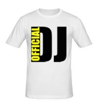 Мужская футболка Official DJ