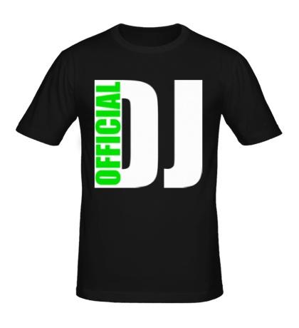 Мужская футболка «Official DJ»