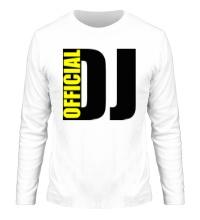 Мужской лонгслив Official DJ