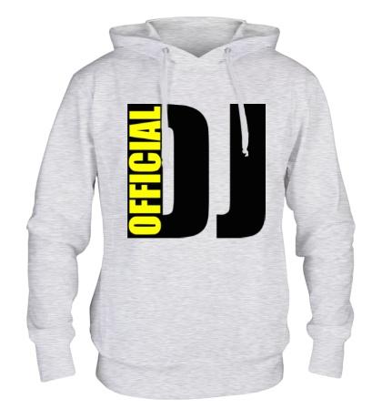 Толстовка с капюшоном Official DJ