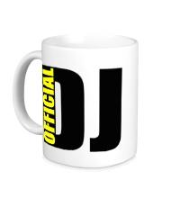 Керамическая кружка Official DJ