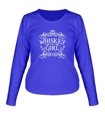 Женский лонгслив Whiskey Girl