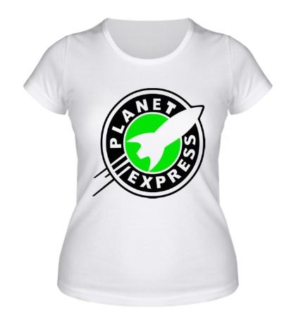 Женская футболка Planet Express