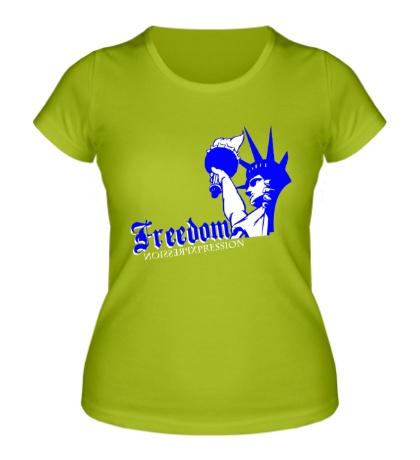 Женская футболка Only Freedom