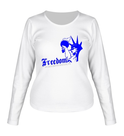 Женский лонгслив Only Freedom