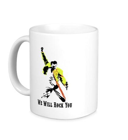 Керамическая кружка Freddie Mercury