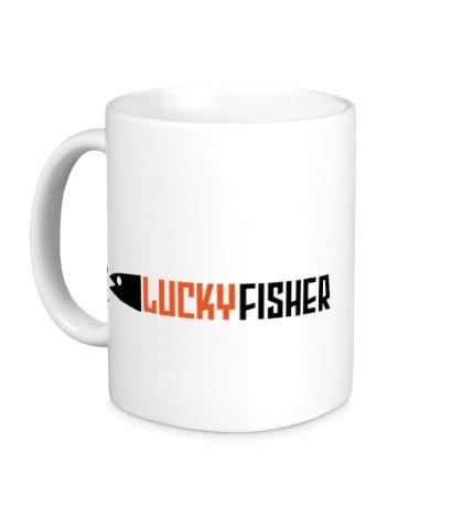 Керамическая кружка Lucky fisher