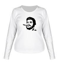 Женский лонгслив Молодой Че Гевара