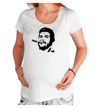 Футболка для беременной Молодой Че Гевара