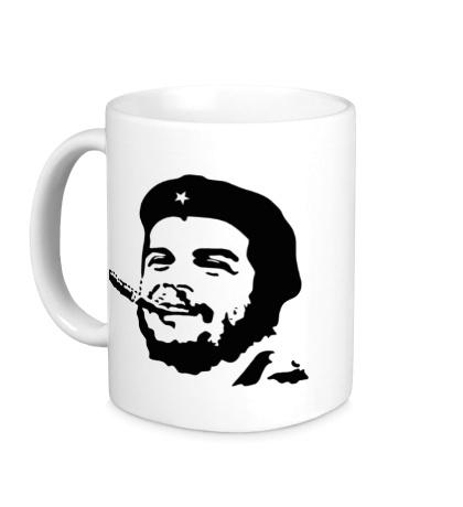 Керамическая кружка Молодой Че Гевара