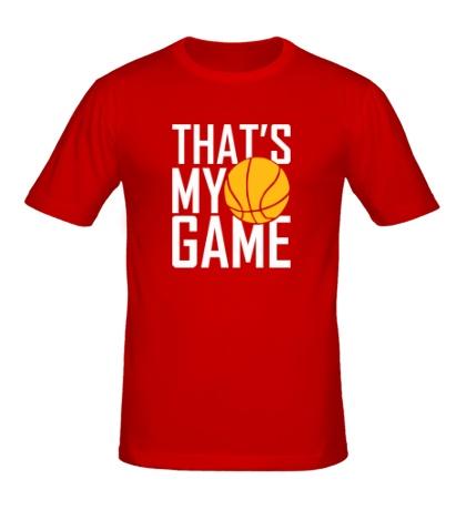 Мужская футболка Basketball my game