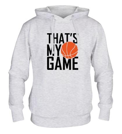 Толстовка с капюшоном Basketball my game