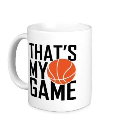 Керамическая кружка Basketball my game