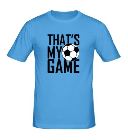 Мужская футболка Football my game