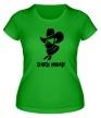 Женская футболка «Chuck Norris: Wild West» - Фото 1