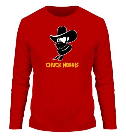 Мужской лонгслив Chuck Norris: Wild West