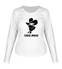 Женский лонгслив Chuck Norris: Wild West