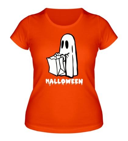 Женская футболка Halloween Ghost