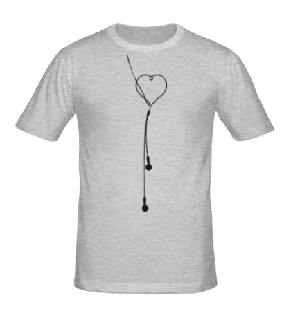 Мужская футболка Наушники