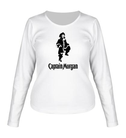 Женский лонгслив Capitan Morgan
