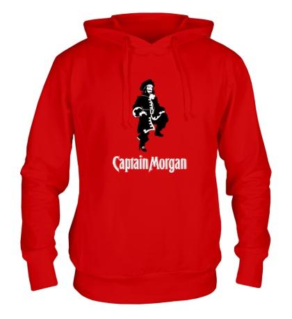Толстовка с капюшоном Capitan Morgan