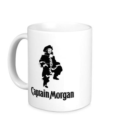 Керамическая кружка Capitan Morgan