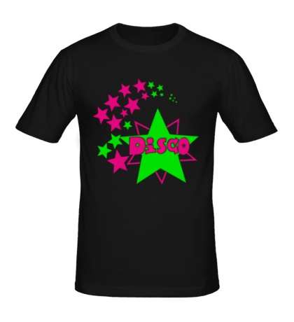 Мужская футболка Disco Stars