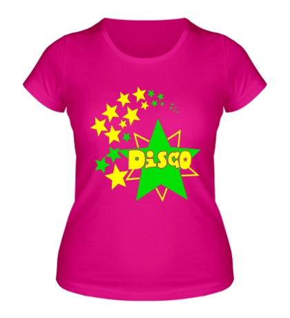 Женская футболка Disco Stars