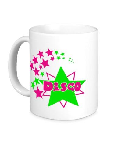 Керамическая кружка Disco Stars