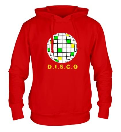 Толстовка с капюшоном Disco Ball