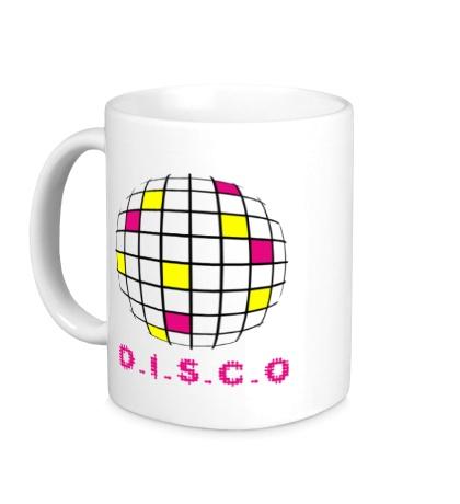 Керамическая кружка Disco Ball