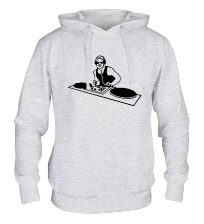 Толстовка с капюшоном DJ Board