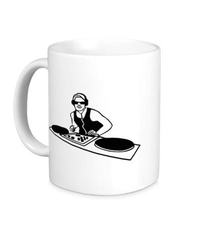 Керамическая кружка DJ Board