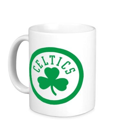Керамическая кружка Boston Seltics Logo