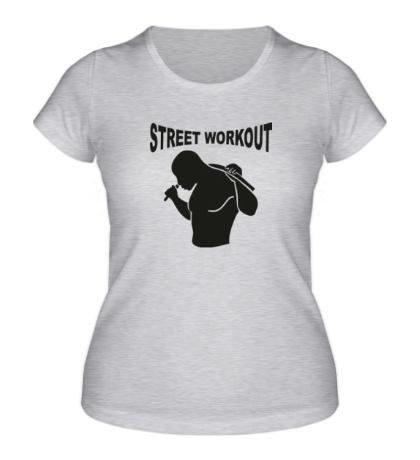 Женская футболка Workout Man