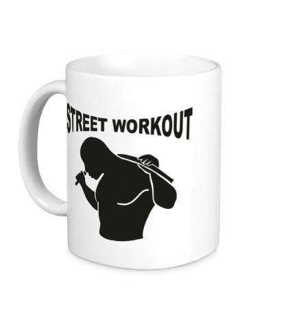 Керамическая кружка Workout Man