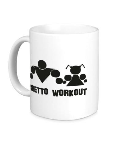 Керамическая кружка Ghetto Workout