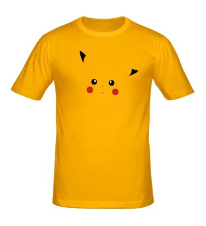 Мужская футболка Грустный Пикачу