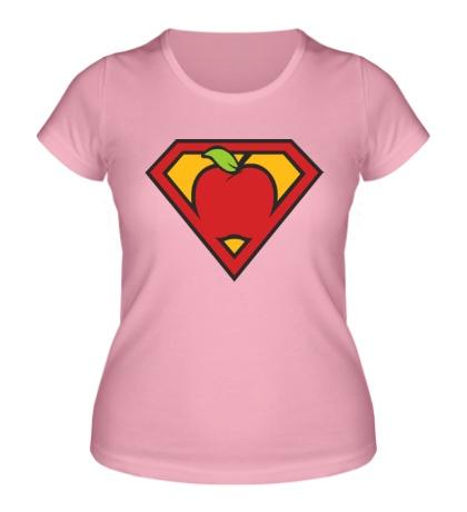 Женская футболка Super apple