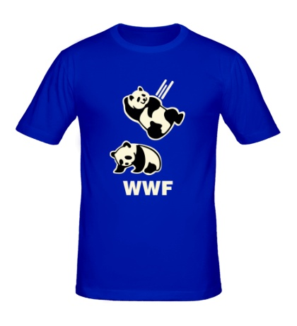 Мужская футболка WWF Panda Glow