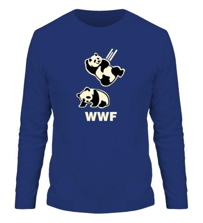 Мужской лонгслив WWF Panda Glow