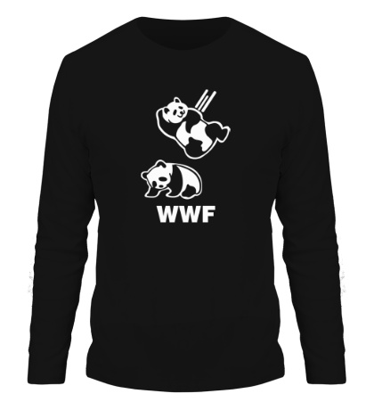 Мужской лонгслив WWF Panda