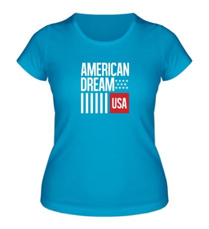 Женская футболка American Dream