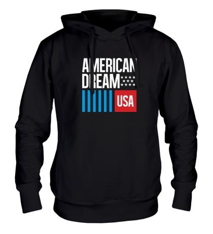 Толстовка с капюшоном American Dream