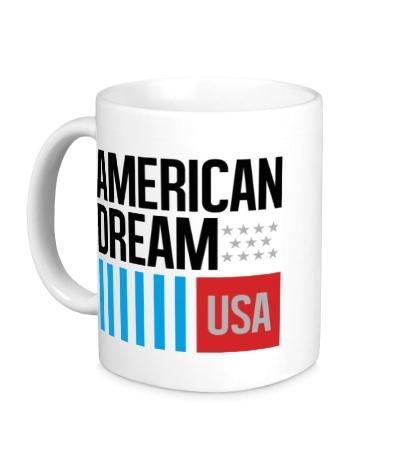 Керамическая кружка American Dream