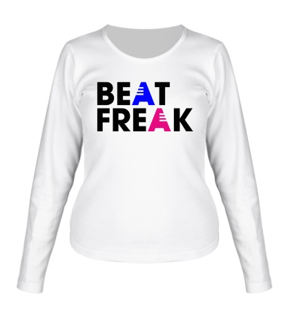 Женский лонгслив Beat Freak