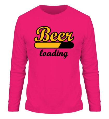 Мужской лонгслив Beer Loading