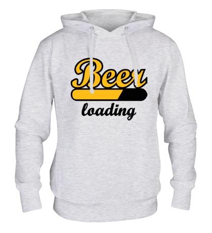 Толстовка с капюшоном Beer Loading