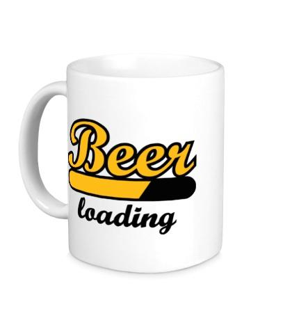Керамическая кружка Beer Loading