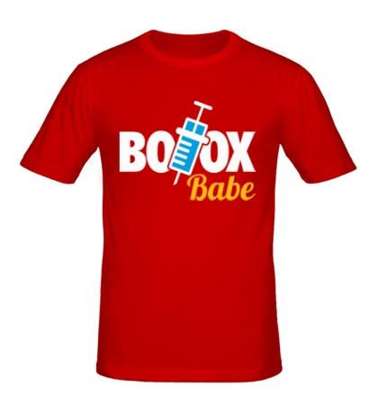Мужская футболка Botox Babe